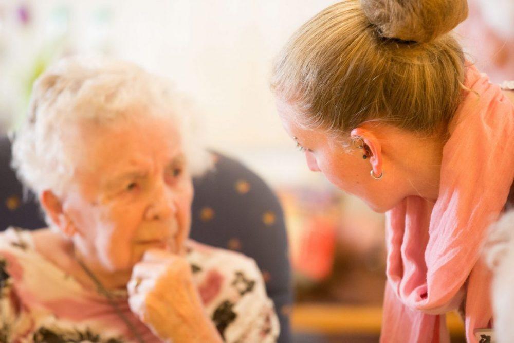 Alten- und Pflegeheim Pflegerin
